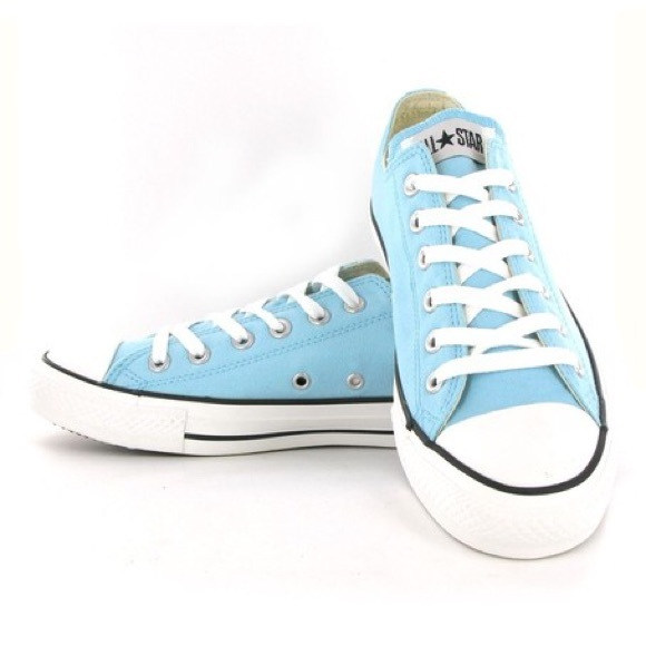 converse shoes for women in light blue